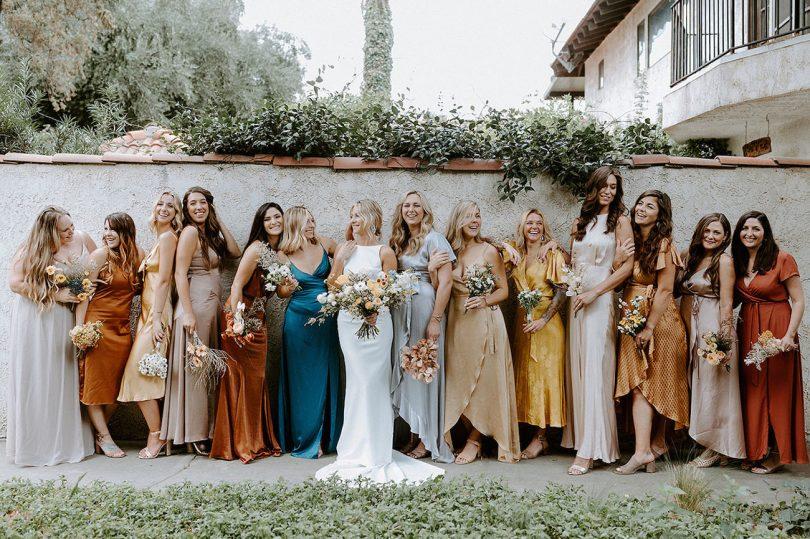 Où trouver votre robe de demoiselle d'honneur en satin pour un mariage ? - Blog mariage : La mariée aux pieds nus