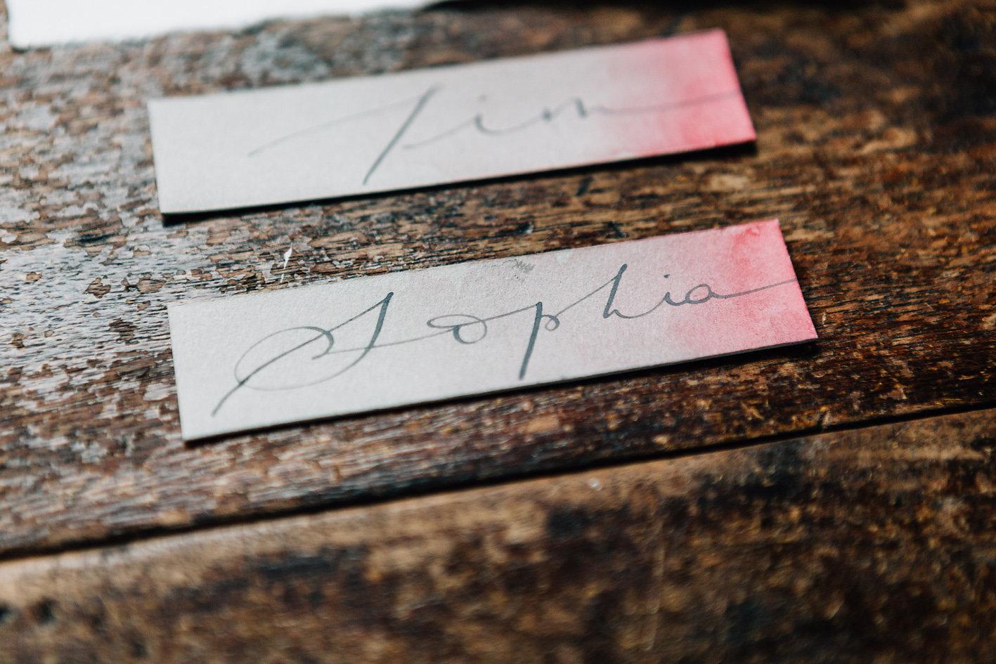 Studio Le Héron - Calligraphe et aquarelliste de mariage