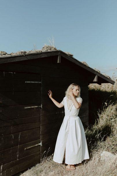 Portez vos idées - Robes de mariée - Collection 2021 - Photos : Fanny Paris - Blog mariage : La mariée aux pieds nus