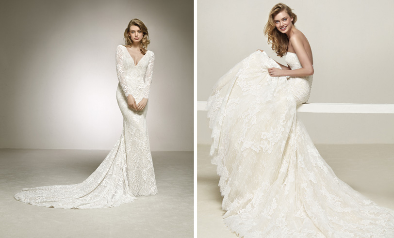 Pronovias - Robes de mariée - Blog mariage : La mariée aux pieds nus