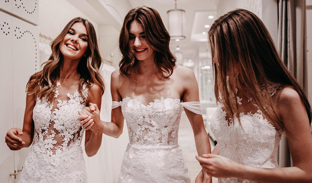 Choisir sa robe de mariée - Pronovias - Blog mariage : La mariée aux pieds nus