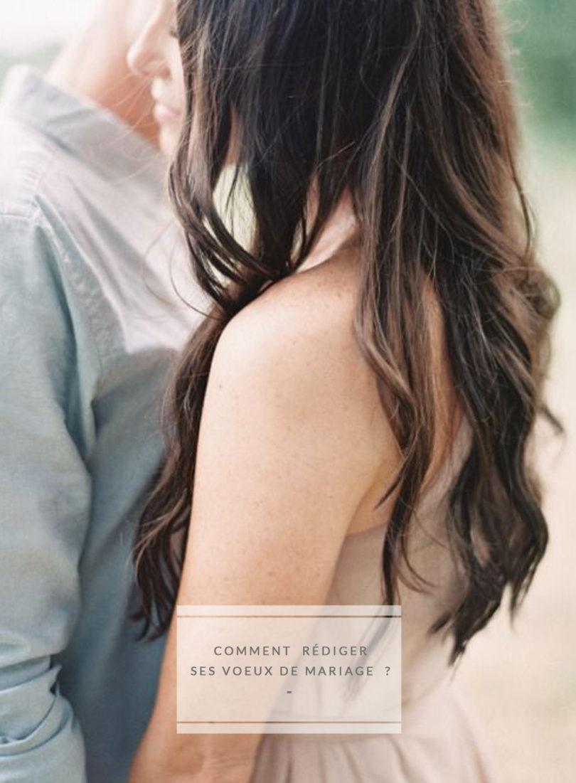 Comment rédiger ses voeux de mariage - A découvrir sur le blog mariage www.lamarieeauxpiedsnus.com - Photo : Rylee Hitchner
