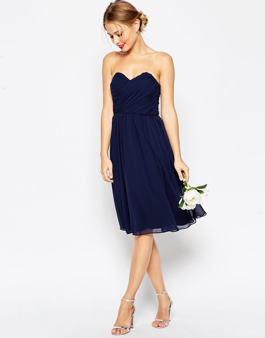 12 robe de demoiselles dhonneur et de tmoins pour un mariage en bleu - Tenue Temoin De Mariage