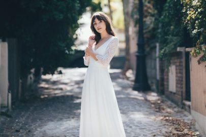 Anna Dautry - Robes de mariée - Collection 2020 - Blog mariage : La mariée aux pieds nus