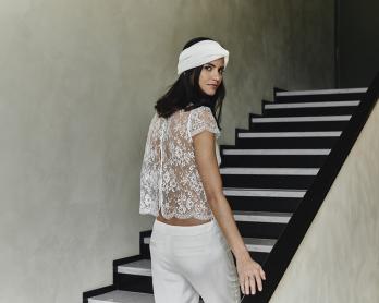 Laure de Sagazan - Robes de mariée - Collection 2018 - Photos : Laurent Nivalle - Blog mariage : La mariée aux pieds nus