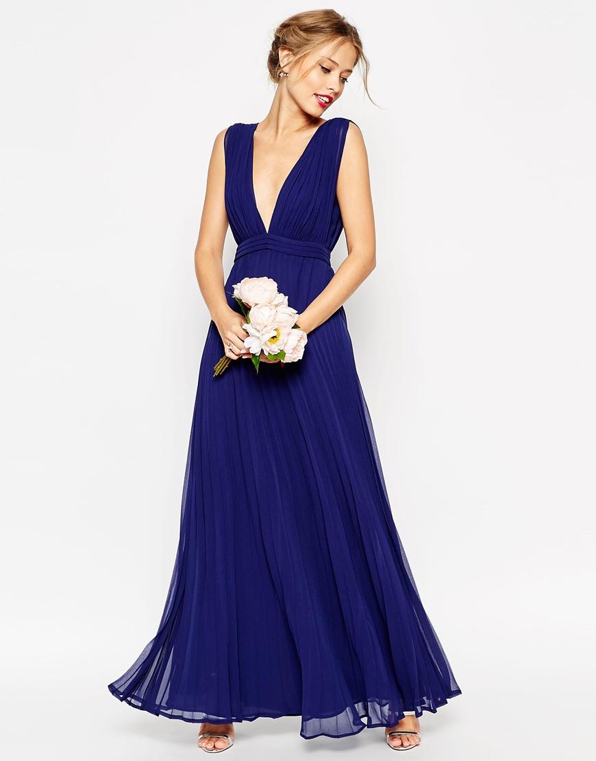 12 robe de demoiselles d 39 honneur et de t moins pour un for Robe bleue pour mariage