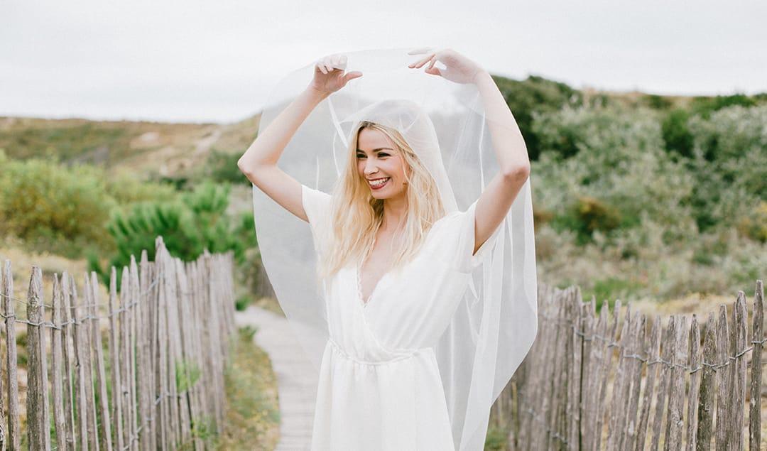 Robes de mariée Anna Dautry - Blog mariage : La mariée aux pieds nus