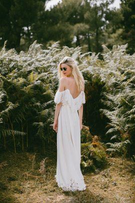 Anna Dautry - Robes de mariée - Photos : Wild Sparrow - Blog mariage : La mariée aux pieds nus