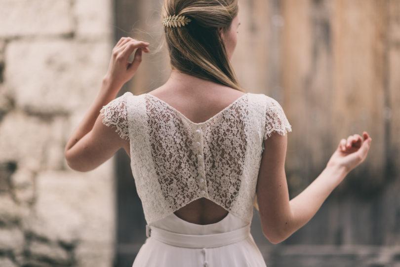 Marion Kenezi - Robes de mariée - Collection 2017 - Photos : Julien Navarre - A découvrir sur le blog mariage www.lamarieeauxpiedsnus.com