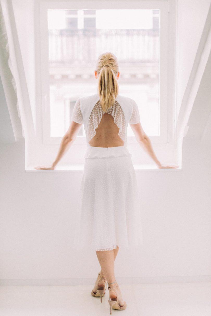 Atelier Swan - Robes de mariée - Collection mariage civil - 2018 - Blog mariage : La mariée aux pieds nus