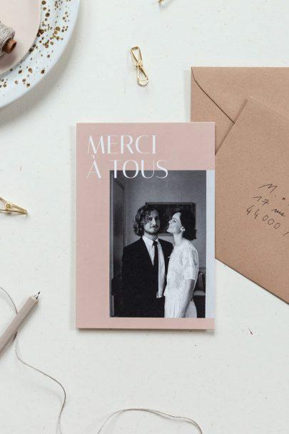 Rosemood - Faire part de mariage - Collection 2020 - Blog mariage : La mariée aux pieds nus