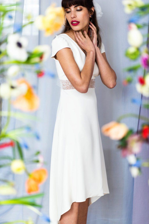 Salomé Gautard - Robes de mariée - Collection 2021 - Photos : Charlotte Jolly de Rosnay - Blog mariage : La mariée aux pieds nus