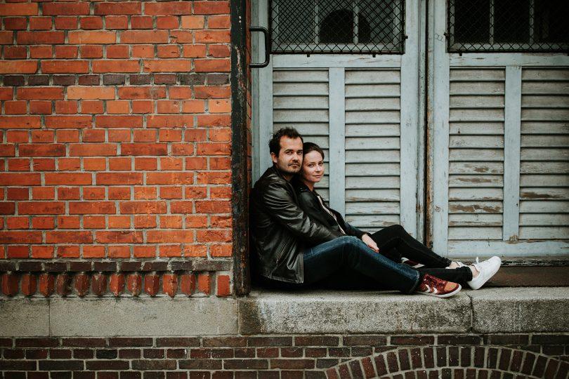 Une sécance engagement dans les rues de Hambourg - Coralie Lescieux - La mariée aux pieds nus