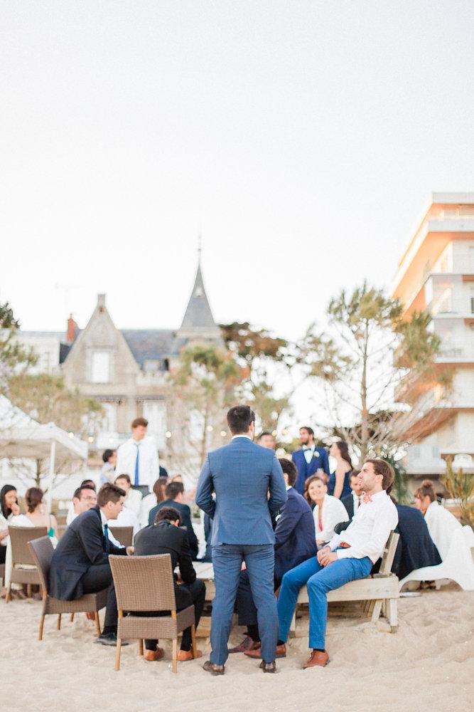 Un mariage à La Baule - La mariée aux pieds nus - Photos : Sebastien Hubner