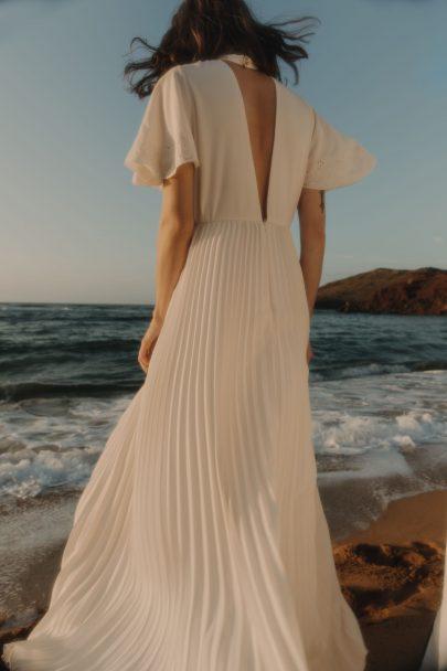 Sessùn - Robes de mariée - Capsule mariage - Blog mariage : La mariée aux pieds nus