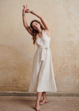 Sézane - Le grand Je(u) - Collection mariée - Blog mariage : La mariée aux pieds nus