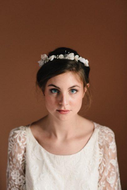 Sidonie Lemaitre - Accessoires de mariée à découvrir sur le blog mariage www.lamarieeauxpiedsnus.com - Photos : Chloé Lapeyssonnie