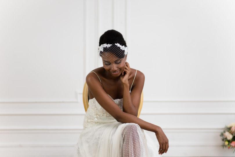 So Helo - accessoires de mariée - Collection 2016 - La mariée aux pieds nus - Photo : Cécile Creiche