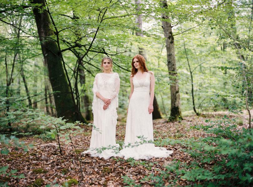Blog mariage - La mariée aux pieds nus - Photo : L'artisan Photographe - Stéphanie Wolff - Robes de mariée - Robe Primavera / Robe Shell