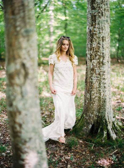 Blog mariage - La mariée aux pieds nus - Photo : L'artisan Photographe - Stéphanie Wolff - Robes de mariée - Collection 2016 - Top River