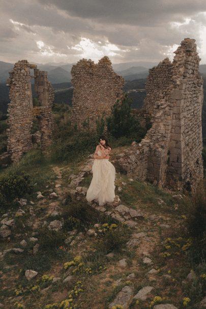Sylvain Estran - Robes de mariée - Collection 2021 - Photos : Coco Egia - Blog mariage : La mariée aux pieds nus