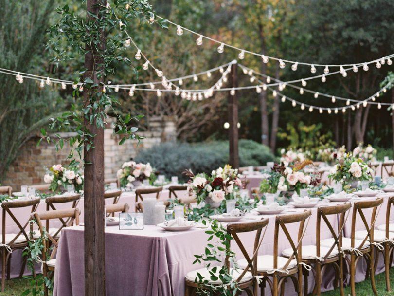 Comment incorporer du violet dans votre mariage ? - Conseil décoration mariage - Blog mariage : La mariée aux pieds nus