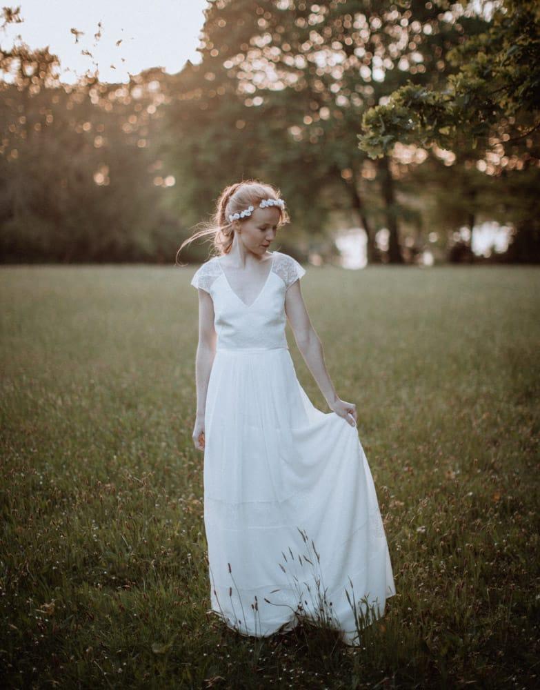 Thomas Raboteur - Photographe Mariage - La mariée aux pieds nus