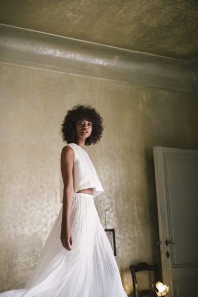 Valentine Avoh - Robes de mariée - Collection 2019 - Photos : Elodie Timmermann - Blog mariage : La mariée aux pieds nus