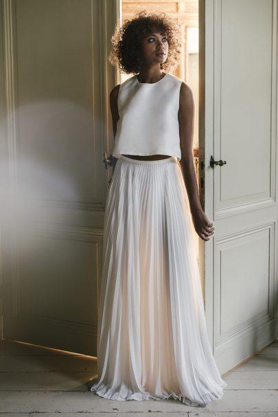 Valentine Avoh - Robes de mariée - Collection 2019 - Photos : Elodie Timmermans - Blog mariage : La mariée aux pieds nus